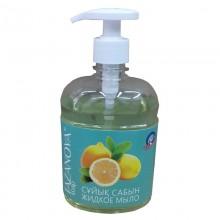 """Жидкое мыло """"Tazanova"""", Лимон, с глицерином, 500мл"""