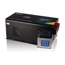 Инвертор, SVC, MP-4048, Мощность 4000ВА/4000Вт, Рабочее напряжение: 160-265B, Вход 48В/220В, Выходное напряжение 160-265В, Чистая синусоида, Зарядный ток 45 А, Время переключения режимов 4-6 мс, Кулер 9 см, Клеммное подключение, Чёрный