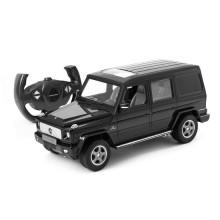 Радиоуправляемая машина, RASTAR, 30400B, 1:14, Mercedes-Benz G55 AMG Geländewagen, Пластик, 40 Mhz, Чёрный
