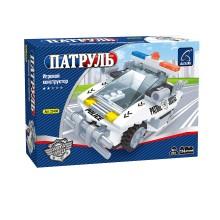 Игровой конструктор, Ausini, 23406, Патруль, Полицейский перехватчик, 114 деталей, Цветная коробка