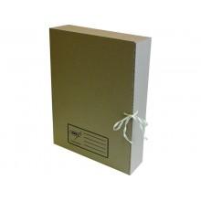 """Папка картонная архивная на завязках """"Kris"""" АС-1э, серия """"Эконом"""", 70мм, 325х250х70мм, светло-бурая"""