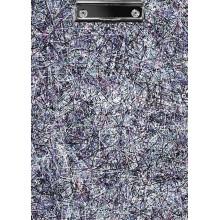 """Папка-планшет """"Hatber"""", А4, металический зажим, ламинация, серия """"Colored Threads"""""""