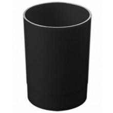 """Стакан пластиковый для письменных принадлежностей """"Стамм"""", серия """"Офис №2"""", чёрный"""