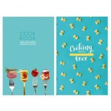 """Книга для записи рецептов """"BG"""", 80л, А5, линия, лак, ламинация, твёрдый переплёт, серия """"Cook Book"""""""