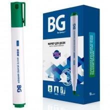 """Маркер для доски """"BG WBM"""", 3мм, круглый наконечник, зелёный"""