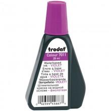 """Краска штемпельная """"Trodat"""", 28мл, на водной основе, фиолетовая"""