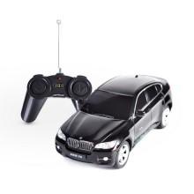 Радиоуправляемая машина, RASTAR, 31700B, 1:24, BMW X6, Пластик, 2.4GHz, Чёрная