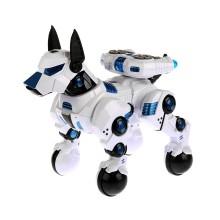 Радиоуправляемая Робо-собака, RASTAR, 77900W, 1:14, RS Intelligent DOGO, Свет, Голос, Танцует, Выполняет команды, Программируется, Белый