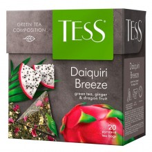 Чай зелёеный Tess Daiquiry Breeze, 20 пакетиков-пирамидок по1,8гр