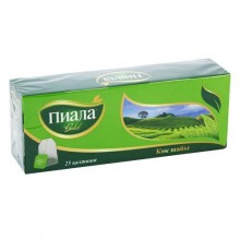 """Чай зелёный """"Пиала"""", 25 пакетиков по 2гр"""