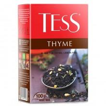 Чай Tess Thyme черный, с чабрецом и цедрой лимона, 100 гр