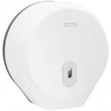 """Диспенсер пластиковый для туалетной бумаги в рулонах """"OfficeClean"""", механический, белый"""