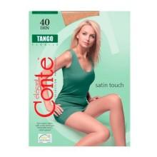 Колготки женские Conte TANGO, 40 ден,  цвет бронза, размер 4