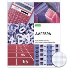 """Тетрадь предметная """"Hatber Eco"""", 48л, А5, на скобе, серия """"Красота в деталях - Алгебра"""", клетка"""