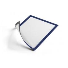 """Информационная магнитная рамка для металлических поверхностей """"Durable Duraframe"""", А4, синяя"""