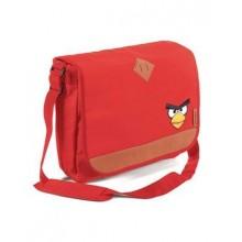 """Сумка """"Hatber"""", 31х36х11см, полиэстер, серия """"Angry Birds - Elite - Красная"""""""