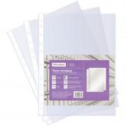 """Файл-вкладыш """"OfficeSpace"""", А4, 40мкм, 60л, перфорация, глянцевая поверхность, 100 штук в пакете"""