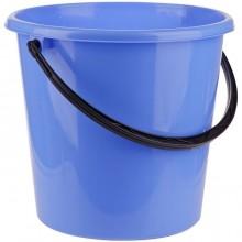 """Ведро пластиковое пищевое """"OfficeClean"""", 12л, мерная шкала, голубое"""
