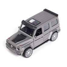 Металлическая машинка, X-Game Kids, 63700S, 1:32, Длина 12.1 см, Открывающиеся двери, Pull-back двигатель, Серебристый металлик, Цветная коробка