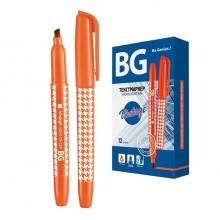 """Текстовыделитель """"BG Vintage"""", 1-4мм, клиновидный наконечник, оранжевый"""