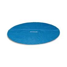Тент солнечный для бассейнов диаметром 244 см, INTEX, 29020, PE, Синий, Сумка