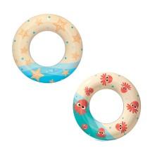 Круг для плавания Swim Ring 61 см, BESTWAY, 36014, Винил, 3+, Цвет в ассортименте, Пакет
