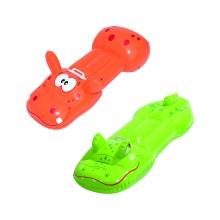 Надувная игрушка для катания верхом Сафари (Safari) 132 х 48(49.5) см, BESTWAY, 42048, Винил, С ручкой, Максимальная нагрузка 45 кг., Крокодил/Бегемот в ассортименте, Цветная коробка