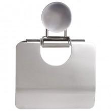 """Держатель стальной для туалетной бумаги """"Лайма"""", 186x135x30мм, зеркальный"""