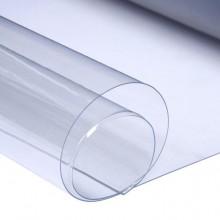 Клеенка прозрачная, ширина 1,4 м, 44метра в рулоне, 200мкр