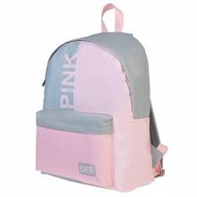 """Рюкзак """"Hatber"""", 30х41x13см, полиэстер, 1 отделение, 1 карман, серия """"Basic - Pink"""""""