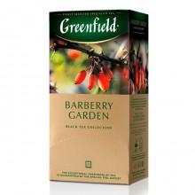 """Чай чёрный """"Greenfield"""", серия """"Barberry Garden"""", 25 пакетиков по 2гр"""