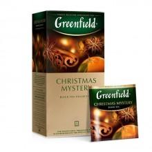 """Чай чёрный """"Greenfield"""", серия """"Christmas Mystery"""", 25 пакетиков по 1,5гр"""