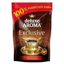 """Кофе растворимый """"Deluxe Aroma Exclusive"""", 65гр, вакуумная упаковка"""