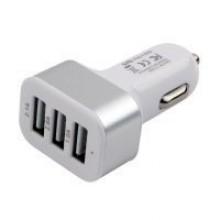 Зарядное устройство автомобильное Cablexpert MP3A-UC-CAR17, 12V->5V 3-USB, 2.1/2/1A