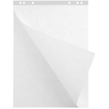 """Блок бумаги для флипчарта """"Hatber"""", 64х92см, 20л, 80гр\/м2, белый, перфорация на отрыв"""