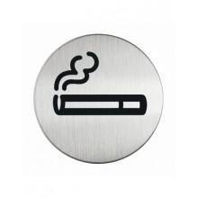 """Пиктограмма """"Место для курения"""" Durable серебристая"""
