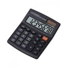 Калькулятор настольный Citizen SDC-805BN 8-разрядный 124x102x25мм, черный