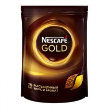 Кофе растворимый Nescafe Gold 250 г (пакет)