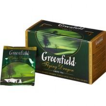 Чай Greenfield Flying Dragon зеленый, 25 пакетиков