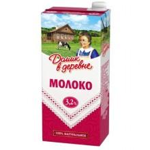 Молоко Домик в деревне стерилизованное 3,2% 950 г