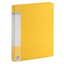Папка Clear Book A4 с 10 вкладышами, желтая