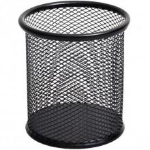 Стакан для ручек D9х10см сетка, черный